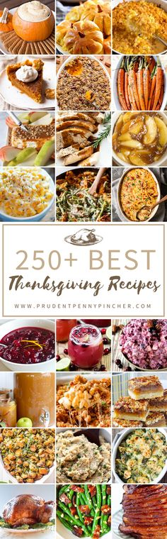 250 Best Thanksgiving Recipes
