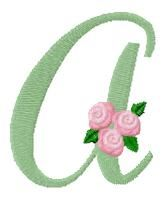 "Mary Britt designs announced: I have a new alphabet starting today. It's called ""Ramblin' Rose"". A new letter will be made available each day, and each letter will remain open for download for one week. Mary also offers a very economical Buy it Now Option if you choose to not download each day."