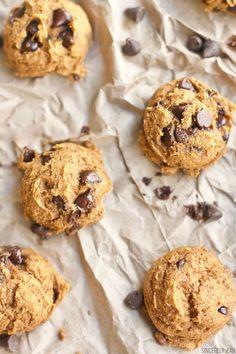 Kodiak Cake Pumpkin Chocolate Chip Cookies, homemade, cookies, healthy, easy, recipe, dessert, fall