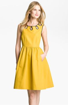 sunny yellow dress!