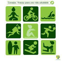 Buenos días, comenzamos la semana con ejercicio, ¿qué deporte sueles practicar tú? #salud