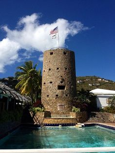 Blackbeard's Castle in Charlotte Amalie, U. Virgin Islands, We stayed there , beautiful view of Charlotte Amalie harbor. St Thomas Virgin Islands, Us Virgin Islands, Southern Caribbean, Caribbean Cruise, Royal Caribbean, Dream Vacations, Vacation Spots, Statues, St Thomas Usvi