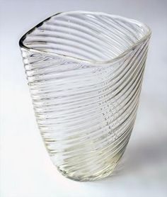 Tapio Wirkkala - Glass vase 3505 for Iittala, Finland.