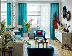 Интерьер от дизайнера Виктории Власовой: фото квартиры в Москве | AD Magazine