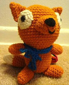 Fox Knitting and Crochet Patterns links