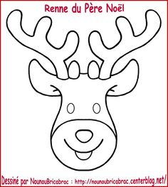 coloring and making - Pre Nol reindeer head … coloring and making - Cute Kids Crafts, Christmas Crafts For Kids, Christmas Printables, Preschool Crafts, Christmas Ornaments, Christmas Skits, Christmas Pictures, Theme Noel, Felt Patterns