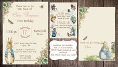 Hey, I found this really awesome Etsy listing at https://www.etsy.com/listing/203344493/printable-peter-rabbit-baby-shower-story