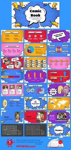 Comic Book Free PowerPoint Template and Google Slides Theme – presentation by PPTMON Features: 25+ Design-IDEA Creative Multi-purpose Presentation For PowerPoint templates and Google slides themes #Comic,#PPTtemplate#PPT#PowerPoint#presentation#FREEPPTTEMPLATE, #PPTDESIGN, #POWERPOINTDESIGN, #PPTTEMPLATEDOWNLOAD, #POWERPOINTTEMPLATE, #GOOGLESLIDES, #GOOGLESLIDESTHEME, #GOOGLEPRESENTATION, #FREEPOWERPOINTBACKGROUND, #PRESENTATIONDESIGN, #FREEPOWERPOINTTEMPLATES