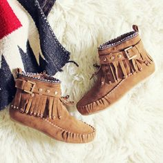 Mountain Gypsy Moccasins, Rugged Boots & Moccasins from Spool No.72 | Spool No.72