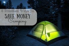 8 Practical Ways To Save Money Camping