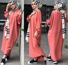 Hijab Fashion 2016, Modest Fashion Hijab, Muslim Fashion, Fashion Outfits, Hijab Style Dress, Casual Hijab Outfit, Hijab Chic, Turban, Modele Hijab