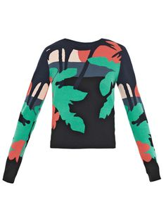 Opening Ceremony Tropical intarsia sweater