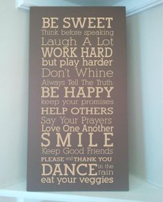 Beautiful 10x24 wooden board sign with quote by uniquevinyldesigns, $29.99