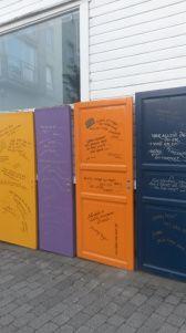 Positive doors- Doors with positive qoutes