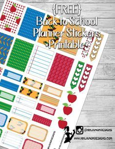 Free Back to School Cover To Do Planner, Mini Happy Planner, School Planner, Free Planner, Planner Ideas, 2015 Planner, Blog Planner, Weekly Planner, Student Planner Printable