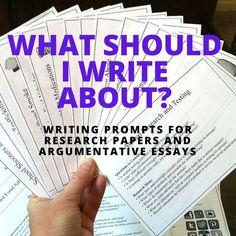 an argumentative paper