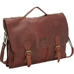 Sharo Extra wide Brown Soft Leather Laptop Computer Brief and... ($178) ❤ liked on Polyvore featuring bags, messenger bags, brown, lightweight messenger bag, leather laptop bag, leather messenger bag, leather computer briefcase and brown leather messenger bag