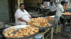 street food - Samosa & Kachori