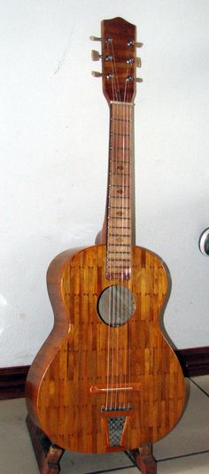 How to make a guitar out of popsicle sticks, could be fun if i have just so much free time