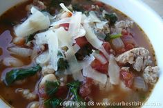 Yum! Simple soup.