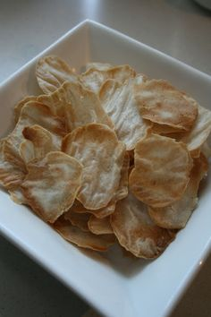 for the love of ♥: { homemade rice crackers }