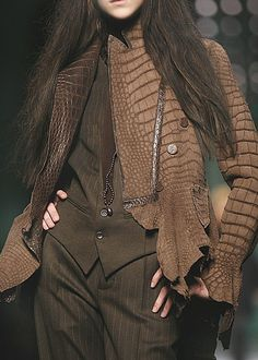 Gaultier. Like the suit BUT not the jacket