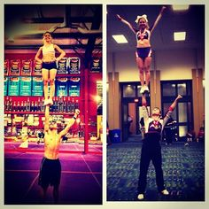 Stunting with Syd.