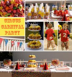 kids carnival circus party