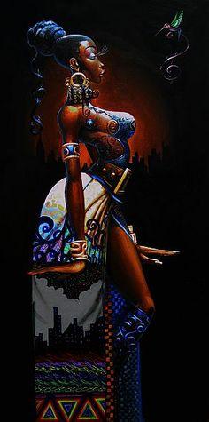 ☆ Royal Blue :¦: By Artist Frank Morrison ☆
