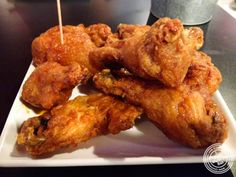 image of fried chicken at BonChon in Midtown West, NYC, New York