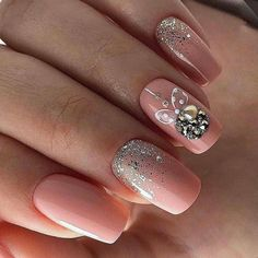 If you are getting ready for the holidays by painting a winter wonderland on your nails, these Cutest Christmas Nail Art DIY Ideas will surely give you a cheerful Christmas season this year. Cute Christmas Nails, Xmas Nails, New Year's Nails, Christmas Nail Art Designs, Winter Nail Designs, Holiday Nails, Hair And Nails, Christmas Ideas, Fancy Nails