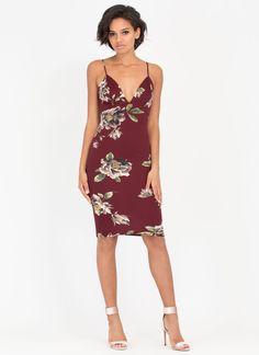 Flowers For You Strappy Midi Dress GoJane.com 96efd6a8df3d3