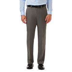 Cool 18 Pro Heather Pant | Classic Fit, Flat Front, Stretch, No Iron | Haggar.com
