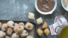 Watch Mini Nutella Doughnuts