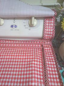 ✿✿Mila Artes Manuales✿✿: FORRO PARA LA LAVADORA Appliance Covers, Sewing Projects, Gadgets, Essentials, Ideas, Clean Washing Machines, Diy Creative Ideas, Farmhouse Rugs, Creativity