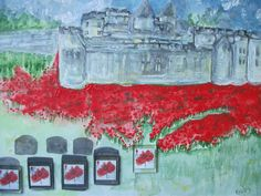 Painted on Remembrance Sunday 2014