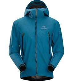 Men's Alpha SL Hybrid Jacket - Thalo Blue