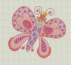 Fit for a Princess 2- 4 Designs!   Princess   Machine Embroidery Designs   SWAKembroidery.com Designs by Juju