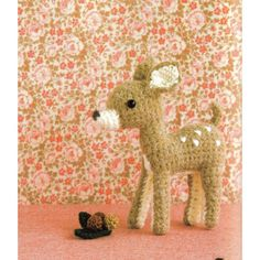 So sweet!- Amigurumi Doe Plush Crochet Pattern PDF by AliceInCraftyland, $1.90 Crochet Deer, Cute Crochet, Knit Or Crochet, Crochet Crafts, Crochet Ornaments, Crochet Diagram, Crochet Stuffed Animals, Crocheted Animals, Deer Stuffed Animal