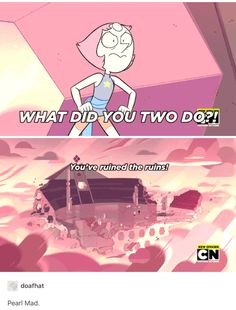 Only amethyst and Steven can ruin the ruins...