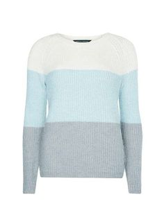 Block Stripe Jumper - Knitwear - Clothing - Dorothy Perkins