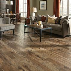 Somerset Flooring Hand Crafted Appalachian Hickory Antique