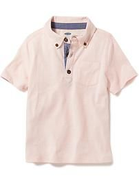 TODDLER - Old Navy - Jersey Polo Shirt