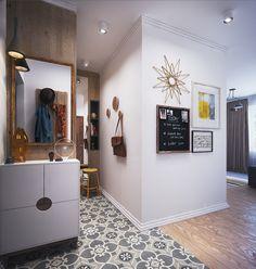 Beautiful small apartment design with Modern Contemporary style... | Visit : roohome.com  #apartment #apartmentdesign #design #decoration #amazing #awesome #fabulous #elegant #unique #simpledesign #interior #creative