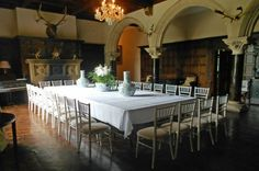 Huntsham Court - Eastern Elevation - Huntsham Court wedding venue in Huntsham, nr Tiverton, Somerset