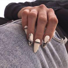 Summer Acrylic Nails, Best Acrylic Nails, Hair And Nails, My Nails, Checkered Nails, Chic Nails, Gelish Nails, Dream Nails, Manicure E Pedicure