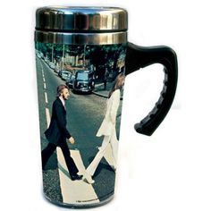 Beatles Travel Mug: Apple