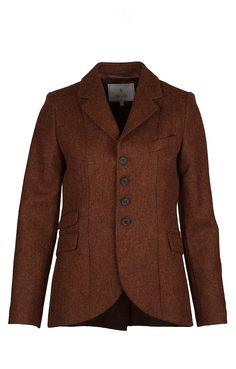 Ladies Tweed Riding Jacket