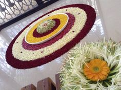 Rangoli made by one of friend…owesom art. Rangoli made by one of friend…owesom art. Rangoli Designs Latest, Rangoli Designs Flower, Rangoli Patterns, Rangoli Ideas, Rangoli Designs Diwali, Diwali Rangoli, Flower Rangoli, Beautiful Rangoli Designs, Kolam Designs