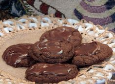 Minty Chocolate Crisps (Cookies)